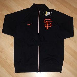NWT Nike Embroidered SF Giants Full Zip Jacket